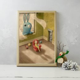 $enCountryForm.capitalKeyWord NZ - Nicoletta Ceccoli Peeping Tom HD Poster Canvas Painting Oil Framed Wall Art Print Pictures For Living Room Home Decoracion
