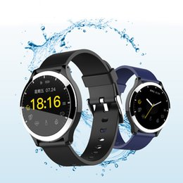 Smart Watch Brown Australia - NEW Smart Watch for Men Heart Rate ECG Detection Fashion Business Men Bluetooth Watch Call Message Remind