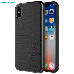 Black magic Back online shopping - NILLKIN Magic Case For iPhone XS Adsorption Magnet Phone Cases For iPhone X Car Magnetic Holder Wireless Charger Back Cover T191017