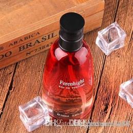 New mulheres vermelhas perfume 100ml Perfume Desodorante longa duração frutado Fragrance Parfum Eau de Toilette Spray de incenso Scent em Promoção