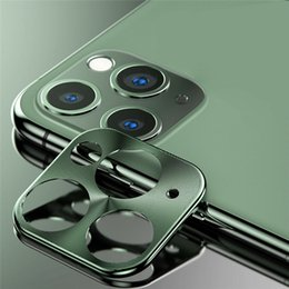 scratch protector for iphone Australia - For Apple iPhone 11 Pro Max i11 i11pro Camera Lens Protector Alloy Aluminum Metal Cover Anti Broken Anti Scratch