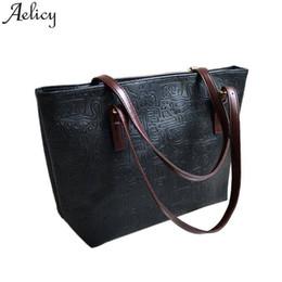 $enCountryForm.capitalKeyWord Canada - Designer Aelicy Women Handbag Fashion Tote Bags Top-Handle Bags Shoulder Bag Female Vintage Satchel Bags Handbags Women Famous Brands