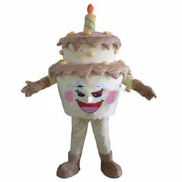 $enCountryForm.capitalKeyWord UK - High Quality New Template Cake Adult Mascot Costume For Festival Birthday Party free shipping