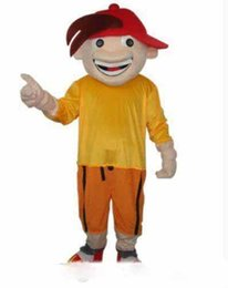 Custom Made Costume Movie UK - 2019Discount factory sale Boy in red hat cool adult size mascot costume free shipping