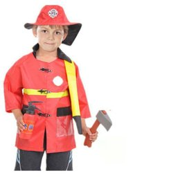 $enCountryForm.capitalKeyWord Australia - Kids Halloween Fire Costume Children Day Costume Police Attorney Pilot Doctor Worker Pilot Performance Boy Girl Show Cosplay Costume