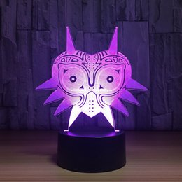 Discount bedroom fishing lights - 7 Colors Changing 3D Led Acrylic Fishing Rod Modelling Table Lamp Usb Bedroom Sleep Decor Night Lights Enthusiast Lighti