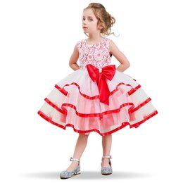 wedding dress for years kids Australia - Flower Girl Dress For Wedding Baby Girl Teenagers Children's Dresses Girl Kids Party Wear Summer Clothes 4 6 810 Years Birthday