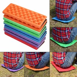 foldable camp chair Australia - Wholesale-Foldable Folding Outdoor Camping Mat Seat Foam XPE Cushion Portable Waterproof Chair Picnic Mat Pad 5 Colors free shipping