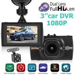 $enCountryForm.capitalKeyWord NZ - H9 1296p Dashboard Camera 3.0 inch Dual Lens Portable Car DVR Video Recorder Massive Storage Cyclic Video Characteristics