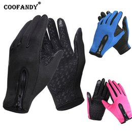 $enCountryForm.capitalKeyWord Australia - Winter Windproof 10 Gloves Zip Windproof Full Finger Street 93 Solid Screen Outdoor 3 Touch Cycling 4 Casual 33inch 11cm