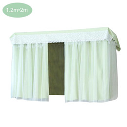 $enCountryForm.capitalKeyWord Australia - Princess Style Bed Curtains Student Dormitory Shading Cloth Bedroom Korean Bed Canopies Drapes for Upper Berth Lower Berth