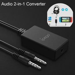 Audio infrAred online shopping - Audio in Converter Adapter Connect Connect headphones For NS Game Switch