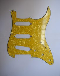 3ply Usa Vintage 11 Hole St Start Guitar Pickguard Scratch Plate For Fd St Eight Colors Options on Sale