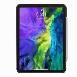 lenovo tablet skin 2020 - 5pcs For IPAD PRO 11 2020 MINI 1 2 3 4 IPAD air9.7 Cover Heavy Duty 2 in 1 Hybrid Rugged Durable Tablet Stand Shell FOR