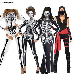 devil costumes women Australia - Funny Halloween Costumes Horror Cos bloody Skull Zombie Costume Vampire Ghost Bride for Women Halloween Party Cosplay devil