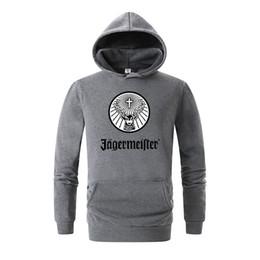 China Brand Men's Jagermeister Print Fleece Hoodies Sweatshirts Winter Unisex Hip Hop Swag Sweatshirts Hoodies Women Hoody Clothes 3D cheap swag clothes hoodie suppliers