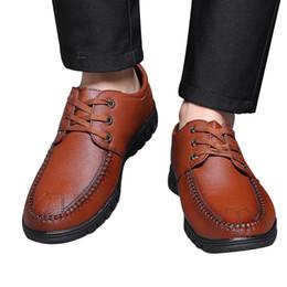 $enCountryForm.capitalKeyWord Australia - SAGACE Fashion Mens Leather Lace Up Shoes Men Business Leather Shoes Casual Lace-Up Hollow Wedding Male Suit