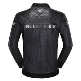 Motorcycles boys jacket online shopping - Brand Men Jacket Coats Bikers Motorcycle Jackets Autumn Spring Clothes Outwear Overcoat Boy Tops XL Black