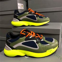 2019 zapatos B24 de las zapatillas de deporte de los hombres de las mujeres de cuero real de becerro casuales para hombre Moda atléticos cómodos zapatos transpirables en venta