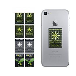 venda por atacado Avanço Tecnologia Chip de Poupança de Energia Anti Radiação Etiqueta EMR Adesivo Bio Energia EMF Escudo Anti Radiação Adesivo