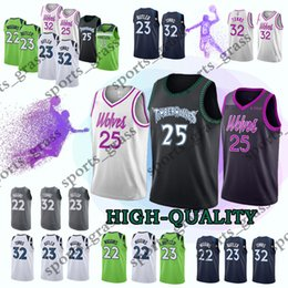 Minnesota Derrick 25 Ros Timberw Jersey Karl-Anthony 32 Towns Andrew 22  Wiggins Jerseys Earned Edition 2019 new Top quality e0b222262