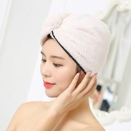 beige, Dark Purple, Light Pink, Light Blue Bath Beauty & Health Nice 4pcs Microfiber Hair Drying Towels Fast Drying Hair Cap Long Hair Wrap Hair Towel