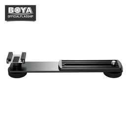 boya microphone Australia - BOYA BY-C01 Aluminium Cold-Shoe Bracket for Microphone LED Light Flash w 1 4'' Screw on Camera for BY-MM1 BY-WM4 Video Shooting