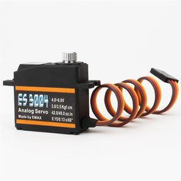 $enCountryForm.capitalKeyWord NZ - Original EMAX ES3004 metal gear 17g High precision Analog Servo For Fixed Wing RC Helicopter Airplane