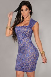 Abendkleid Blaues Kleid auf Lager Spitze Mantel Mini Frauenkleid Zuhair Murad Almodal Yousef aljasm Abendkleider Liebste