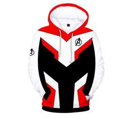 $enCountryForm.capitalKeyWord UK - Free shipping hot sale Men women Avengers endgame 4 quantum warfare 3D digital printing zipper sweater boy girl hoodies cardigan designer #8