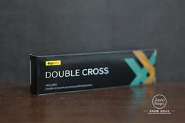 Double Cross de Mark Southworth (instruções + gimmick), truques de mágica close-up truques ilusões diversão profissional magia incrível J190427 em Promoção