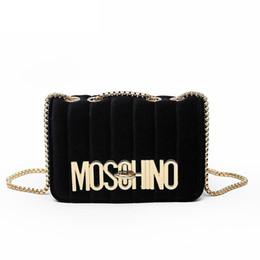 Spandex open online shopping - 2019 new Women s chain shoulder crossbody bag diagonal leisure fashion letters small square trendy handbags bolsa feminina