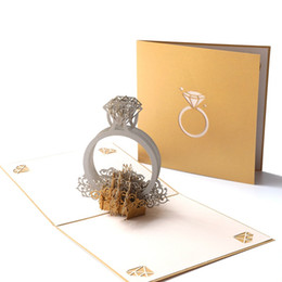$enCountryForm.capitalKeyWord Australia - Valentine's Day My Heart Eternal Marriage Wedding Greeting Card 3D Stereo Paper Carving Vintage Invitation Invitation
