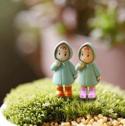 $enCountryForm.capitalKeyWord Australia - New 1PCS Cute Mini Figurines Miniature Girl Mei Resin Crafts Ornament Fairy Garden Gnomes Moss Terrariums Home Decorations