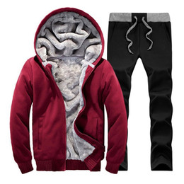 $enCountryForm.capitalKeyWord NZ - 2019 Winter Brand Men Tracksuit Sportwear Sweatshirt Fitness Men's Suit Autumn Tracksuits Set Cheap Hoodies Men Track Suit