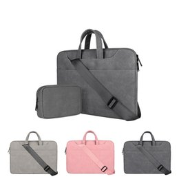 Hp laptop bags cHina online shopping - Laptop bag shoulder bag matte PU liner bag for apple mac book xiaomi Lenovo custom LOGO