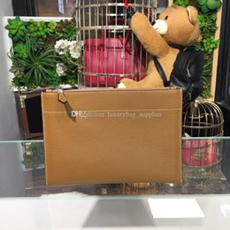 $enCountryForm.capitalKeyWord Australia - Designer Luxury Handbags Purses Bags Hot Sale Wholesale Cheap Wallet Perforated Genuine Leather Plain Zipper Ladies Hand BagLong Purse