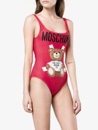 $enCountryForm.capitalKeyWord UK - MOSC Small Bear Designer fashion Swimwear Bikini For Women Letter Swimsuit Bandage Bi quinis Sexy Bathing Suit S-XL