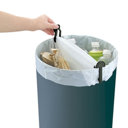 $enCountryForm.capitalKeyWord UK - 2pcs Trash Garbage Bag Dustbin Waste Bin Can Holder Fixed Clip Trash Bag Clamp Organizador Kitchen Shelf Home