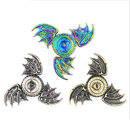 $enCountryForm.capitalKeyWord Australia - Game of Thrones Fidget Spinner Dragon Eyes Metal Hand Spinner Finger Spinner Anti Stress Tri Spiner Toys for Autism and ADHD