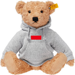 Chinese  Children's Gifts Ted Bears Cute Bears Ins Plush Toys with Clothes 18Box Logo Plush Toys Christmas Holiday Birthday Gifts manufacturers