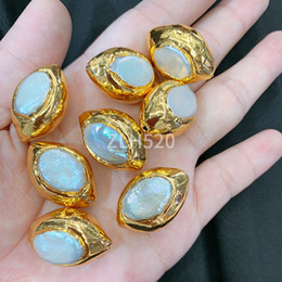 $enCountryForm.capitalKeyWord Australia - Original DIY irregular large particles 24k gold pearl accessories fashion European style
