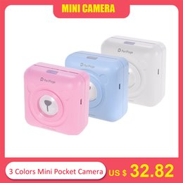 mini printer android NZ - 3 Colors Mini Pocket Picture Printer Photo Digital Cute Receipt Paper Print  USB Cable for Android Smartphone Gifts for Kids
