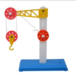 block brown Australia - Pulley block and bracket teaching instruments Primary school mechanics aids scientific experimental physics technology