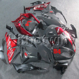 $enCountryForm.capitalKeyWord Australia - 23colors+Gifts Injection mold red black motorcycle cowl for Kawasaki ZX6R 2009 2010 2011 2012 ABS motor Fairing