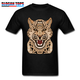 Discount hipster clothing wholesale - Hipster T-shirt God Of Global Warrior T Shirt 2019 Men Steampunk Tshirt Big Cat Print Clothing Elegant Chic Summer Stree