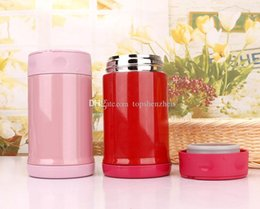 Discount car thermos 17oz 500ml Thermo Mug Vacuum Cup Stainless Steel thermos Bottle Belly cup Thermal Bottle for water Insulated Tumbler For