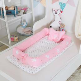 14Style Detachable Baby Isolation Bed Newborn Baby Bionic Bed Sleeping Multi-Function Folding Anti-Pressure Bionic Nest Unisex Bed Crib M846 on Sale