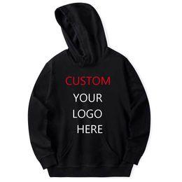 Custom Designed Clothing Australia - good quality Custom Design Logo Hoodies Men Women Personalized Team Family Customize Sweatshirt Polluver Customization Clothes