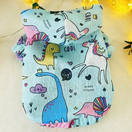 $enCountryForm.capitalKeyWord Australia - Pet dog clothes small dog milk dog summer light and cute graffiti small blouse pet clothing